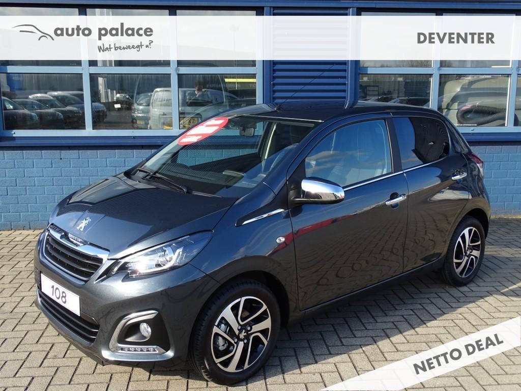 Peugeot 108 1.0 e-vti allure climate control, bluetooth, lichtmetalen velgen, cruise control
