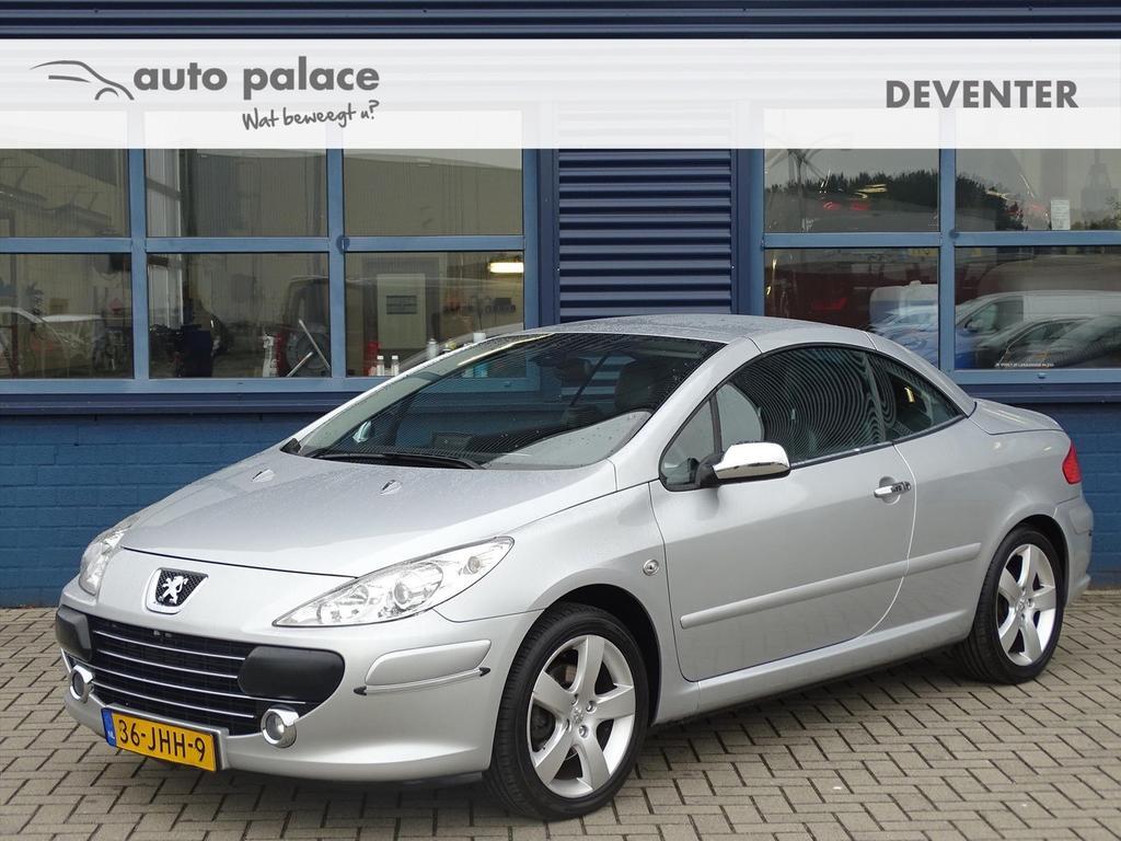 Peugeot 307 2.0 16v cc cabriolet, navi, leer, bluetooth
