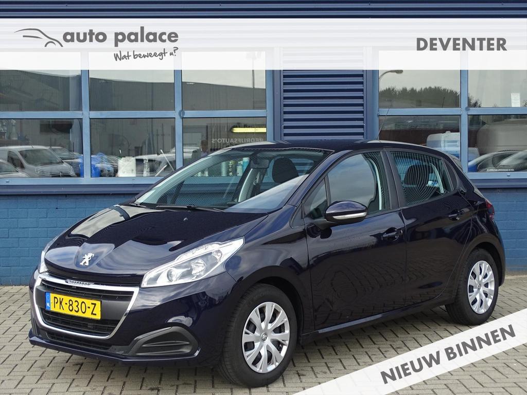 Peugeot 208 1.2 puretech 82pk 5d active, navi, bluetooth, airco