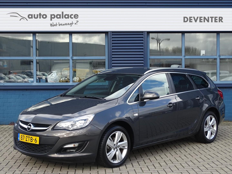 Opel Astra 1.4 turbo 120pk design edition, navigatie, 17'' velgen