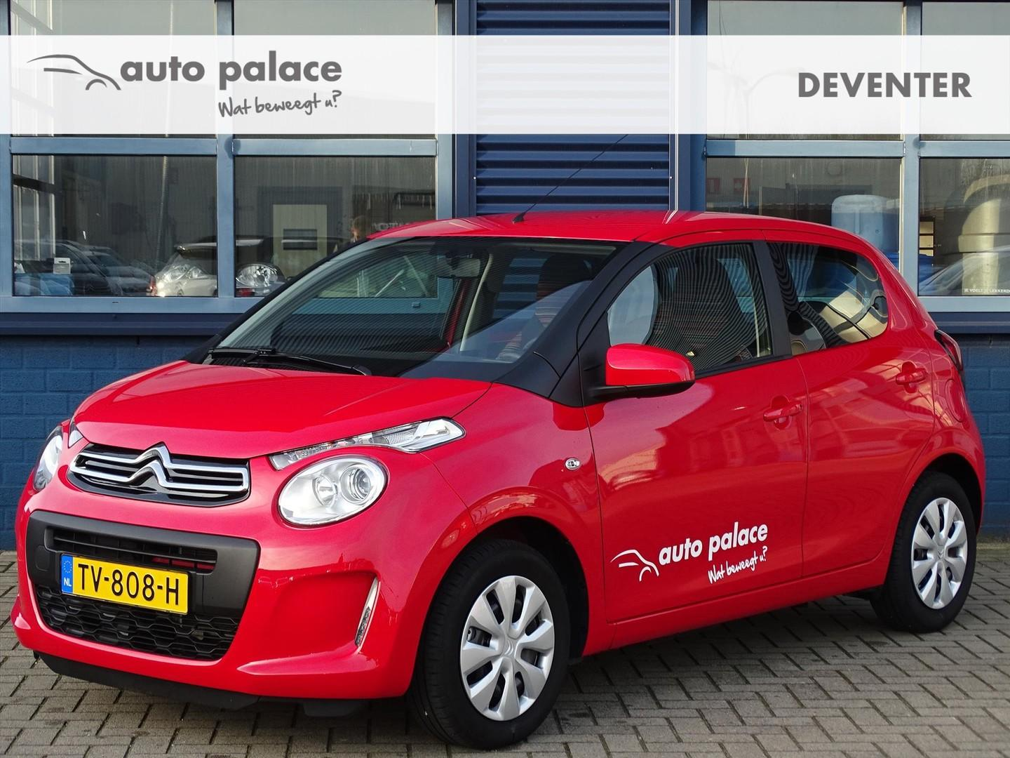 Citroën C1 1.0 vti 72pk feel, airco, bluetooth, usb