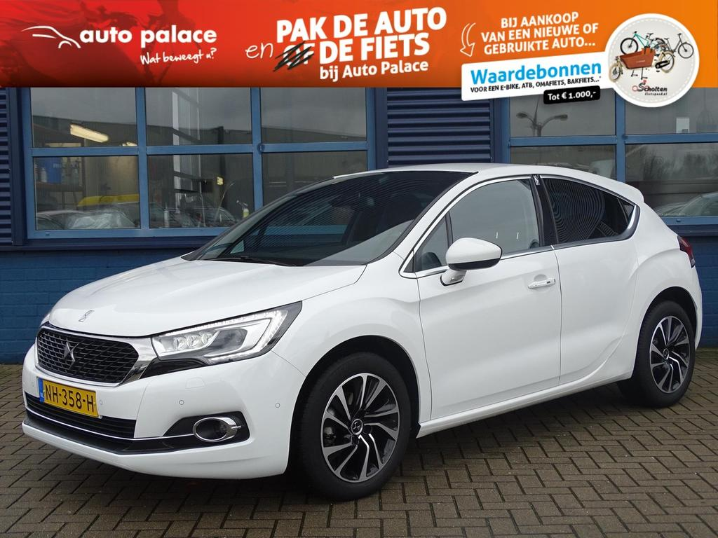 Ds Ds 4 1.2 vti 131pk so chic, navigatie, bluetooth,led