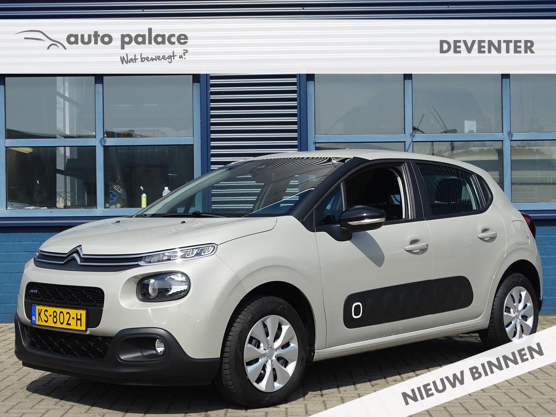 Citroën C3 1.2 puretech 82pk feel, navigatie, bluetooth, pdc