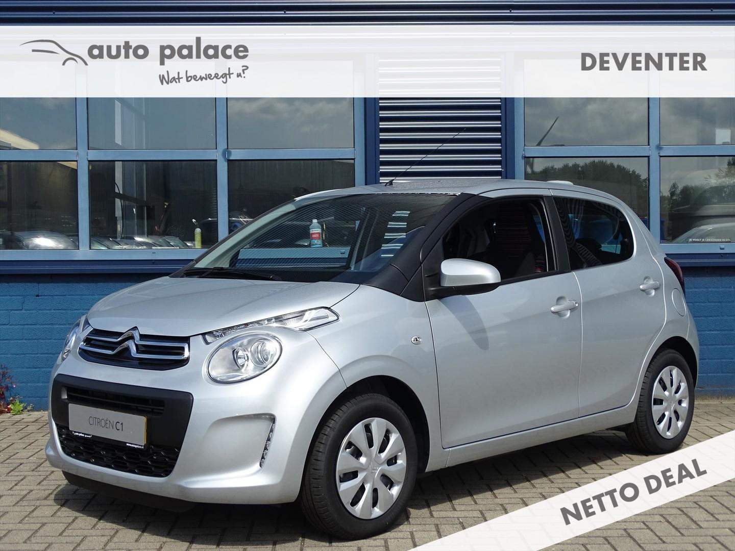 Citroën C1 1.0 vti 72pk feel + pack comfort, airco, bluetooth