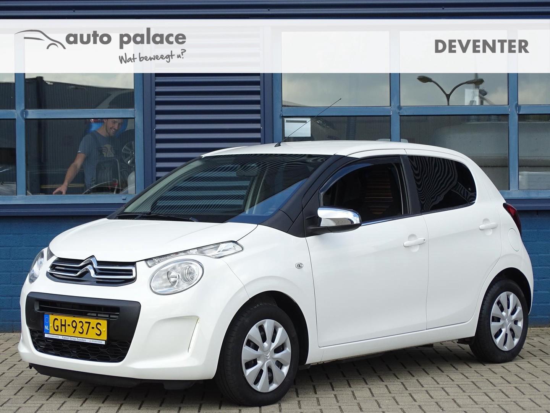 Citroën C1 1.0 e-vti 68pk feel + pack comfort, airco, bluetooth