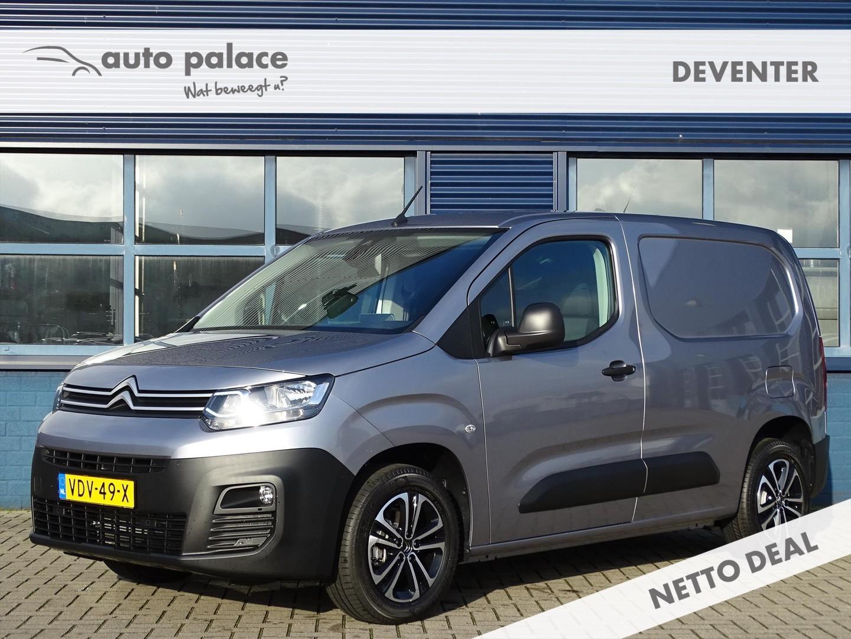 Citroën Berlingo Van gb 1.6 bluehdi 100pk s&s l1 control, navigatie, camera, lichtmetaal