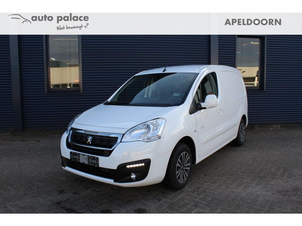 Peugeot Partner 120 1.6 bluehdi 100 pk l1 premium pack s&s, navi, pdc, cruise, rijklaar en uit voorraad leverbaar!