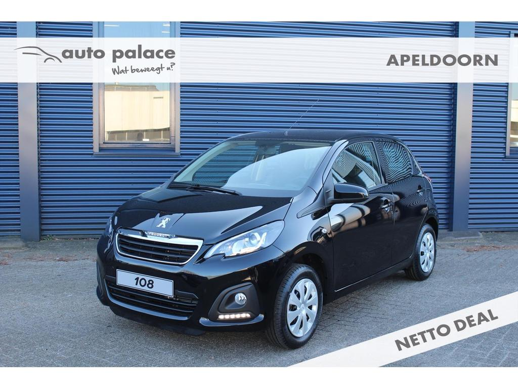 Peugeot 108 1.0 active, netto deal korting!