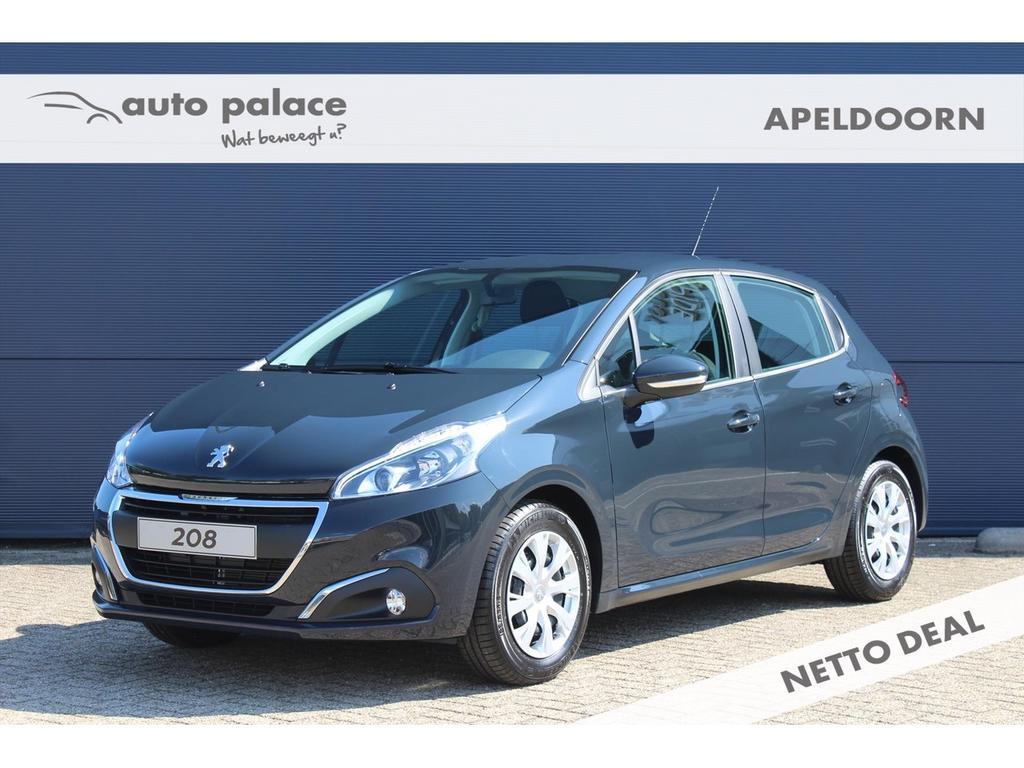 Peugeot 208 1.2 82pk 5d blue lion netto deal! korting!