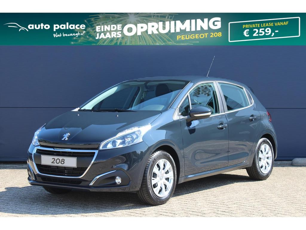 Peugeot 208 1.2 82pk 5d blue lion netto deal! korting!