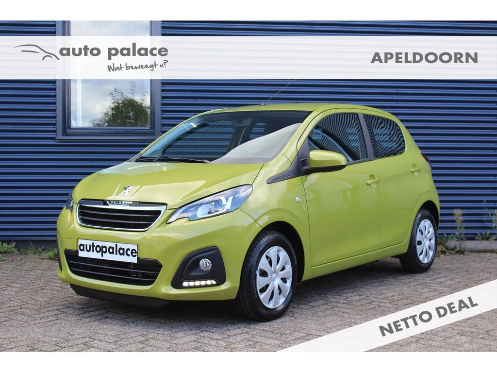 Peugeot 108 1.0 e-vti 72pk 5d active netto deal! korting!