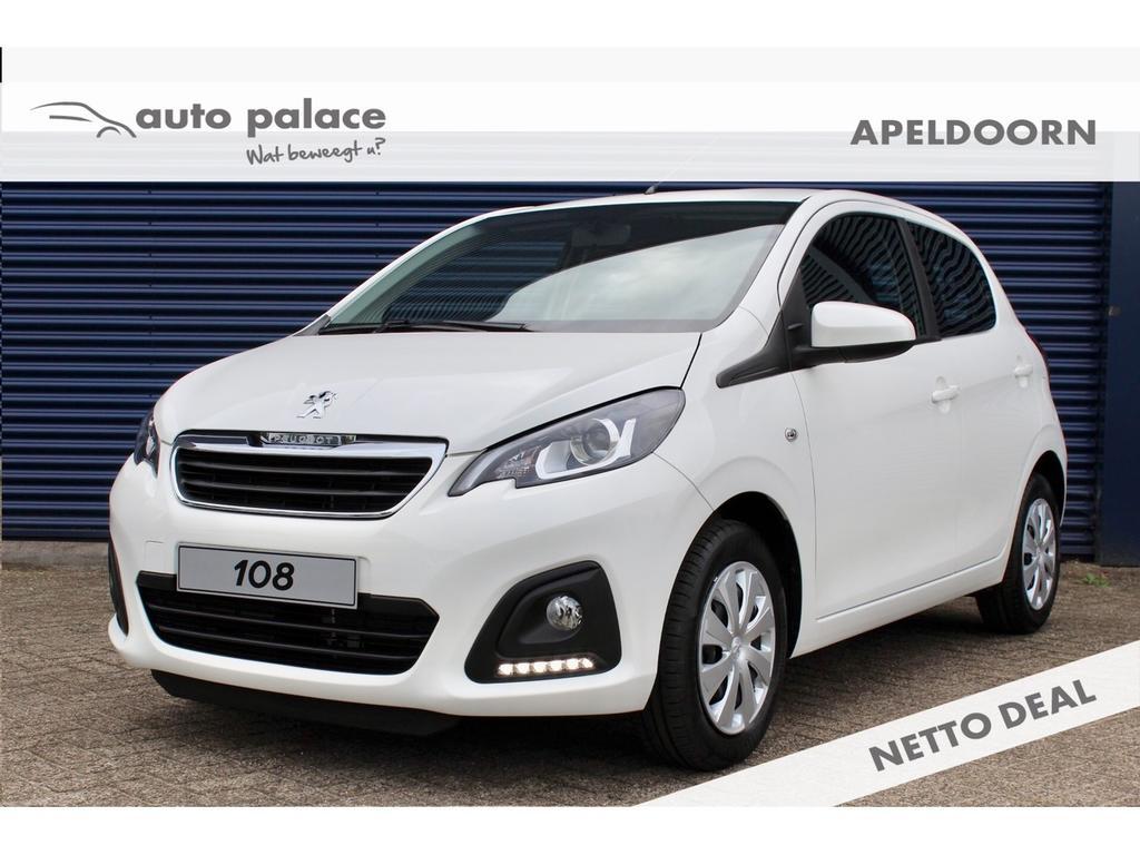 Peugeot 108 1.0 72pk 5d active netto deal korting!