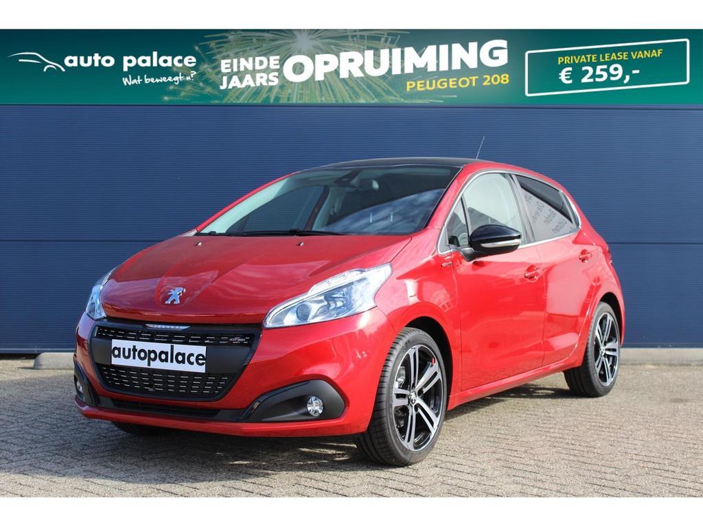 Peugeot 208 1.2 puretech 110pk gt-line netto deal!