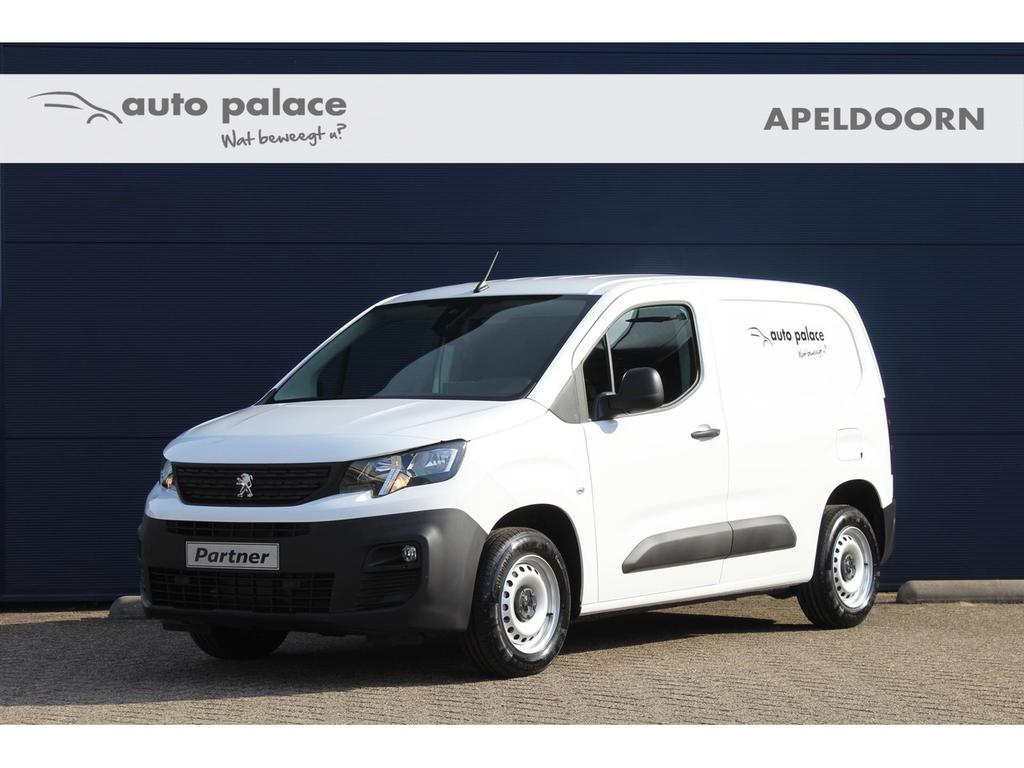 Peugeot Partner Asphalt 1.6 bluehdi 100 s&s, navi, airco, cruise!