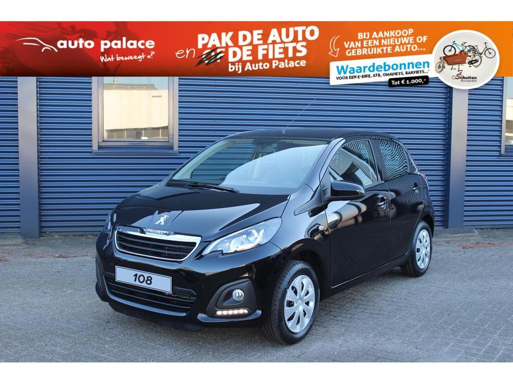 Peugeot 108 1.0 68pk 5d active netto deal!