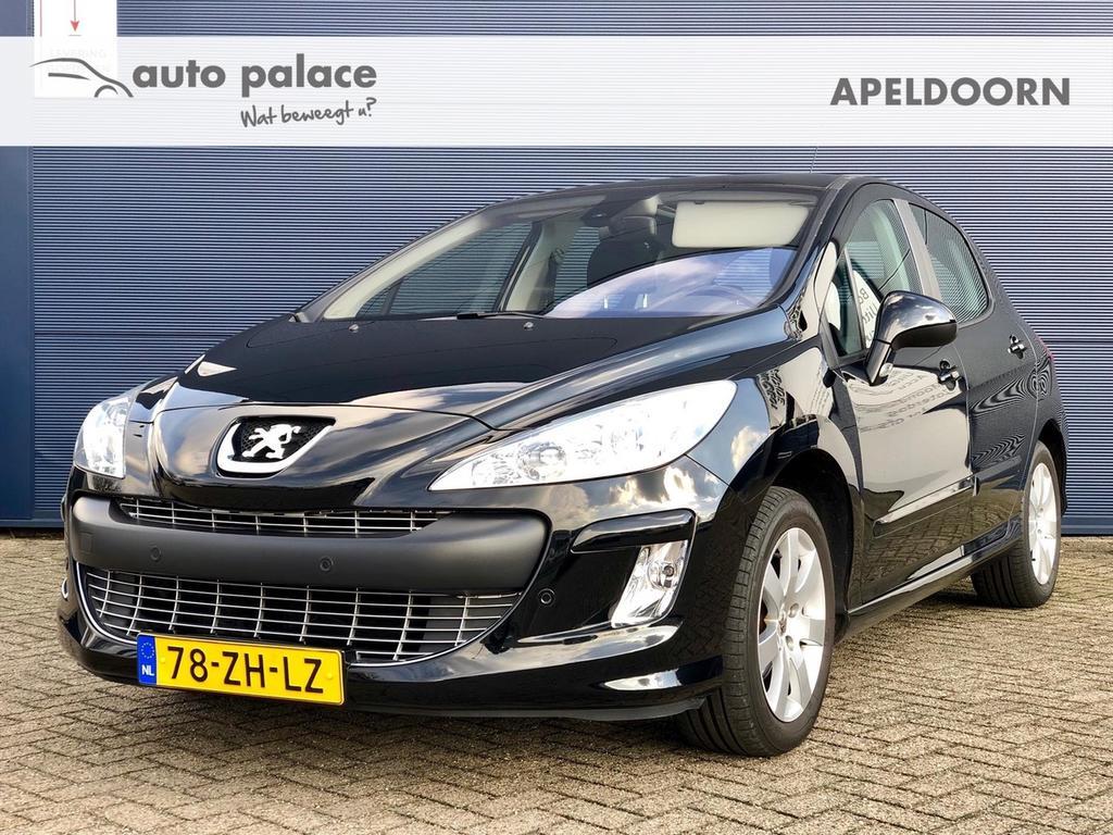 Peugeot 308 1.6 vti 5-drs xt lage km stand! clima, sensoren, panodak!