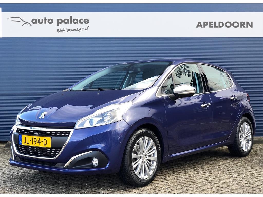 Peugeot 208 1.2 allure luxe uitvoering! navi,clima,jbl soundsystem, leder!