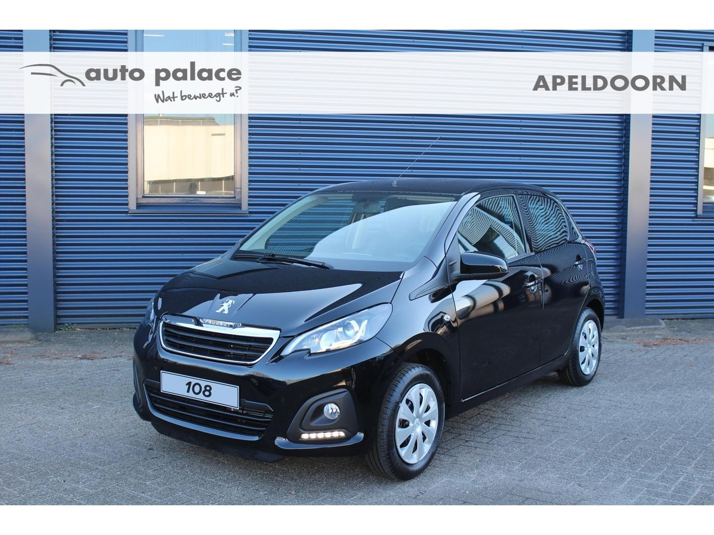 Peugeot 108 1.0 72pk 5d active netto deal korting!