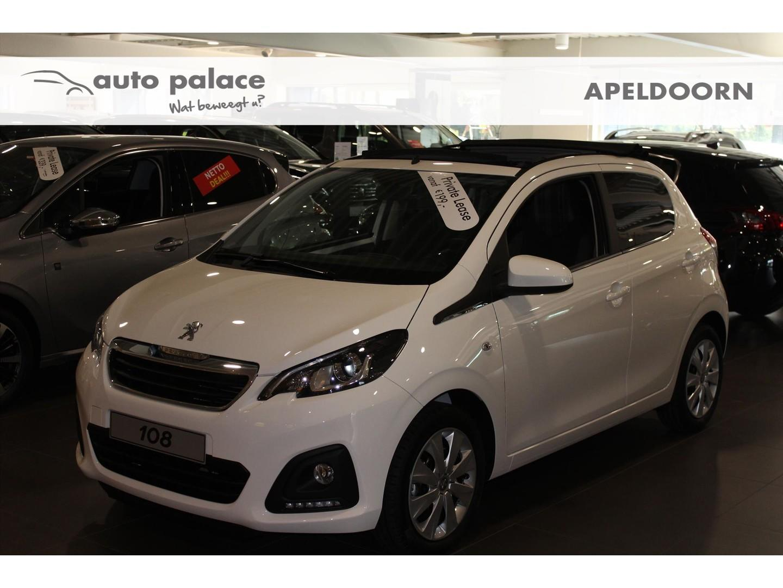 Peugeot 108 5d 1.0 active top! airco