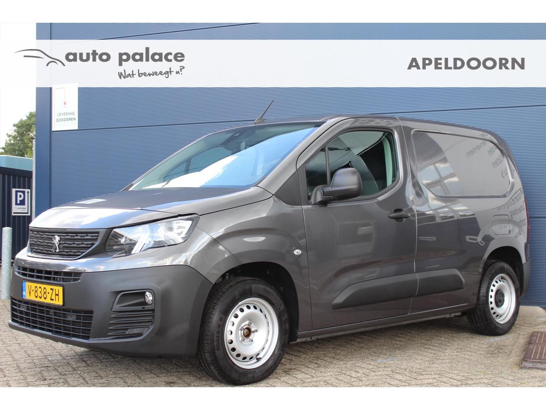Peugeot Partner New 1.6 bluehdi 100pk 1000kg asphalt clima/navi / dode hoek camera