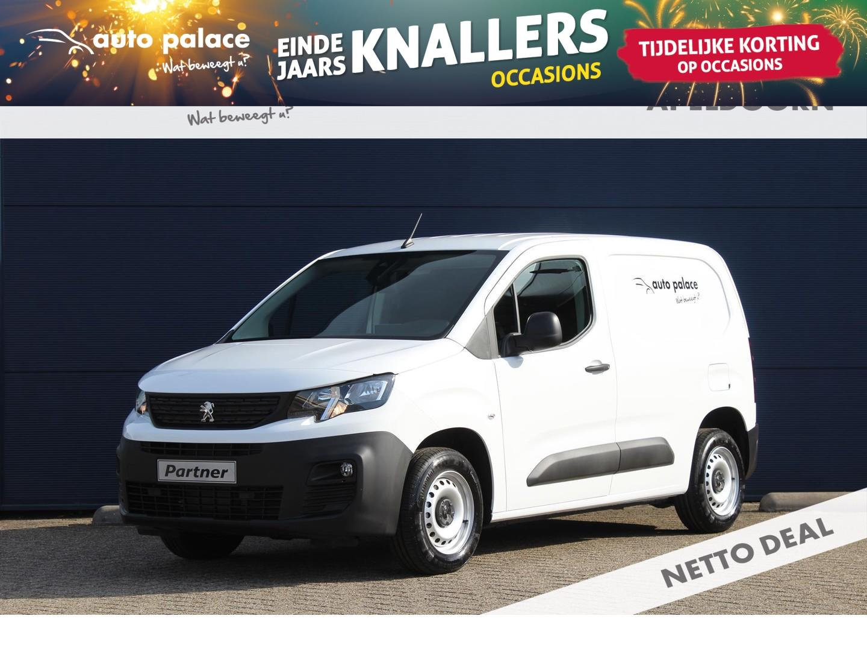 Peugeot Partner New 1.5 bluehdi 75pk 1000kg 3-zits grip netto deal!