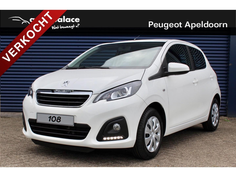 Peugeot 108 1.0 72pk 5d active private lease vanaf €199 per maand!
