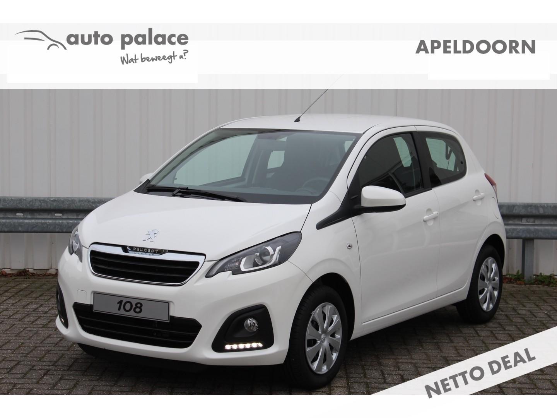 Peugeot 108 1.0 72pk 5d active netto deal!