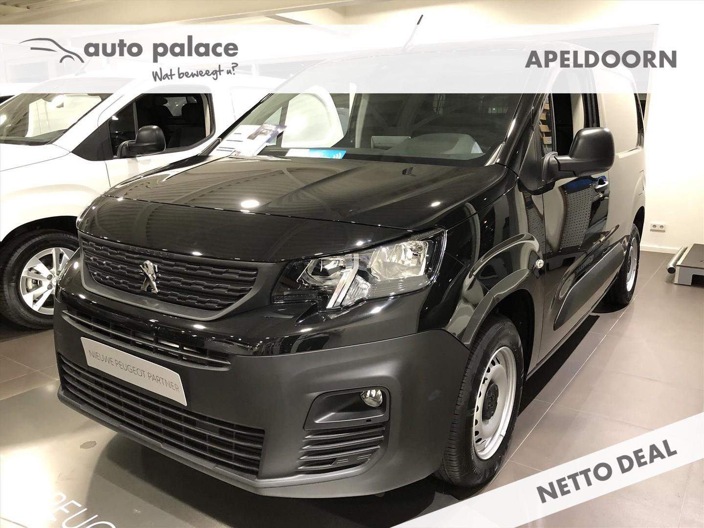 Peugeot Partner 1.5 75pk 650kg premium netto deal!