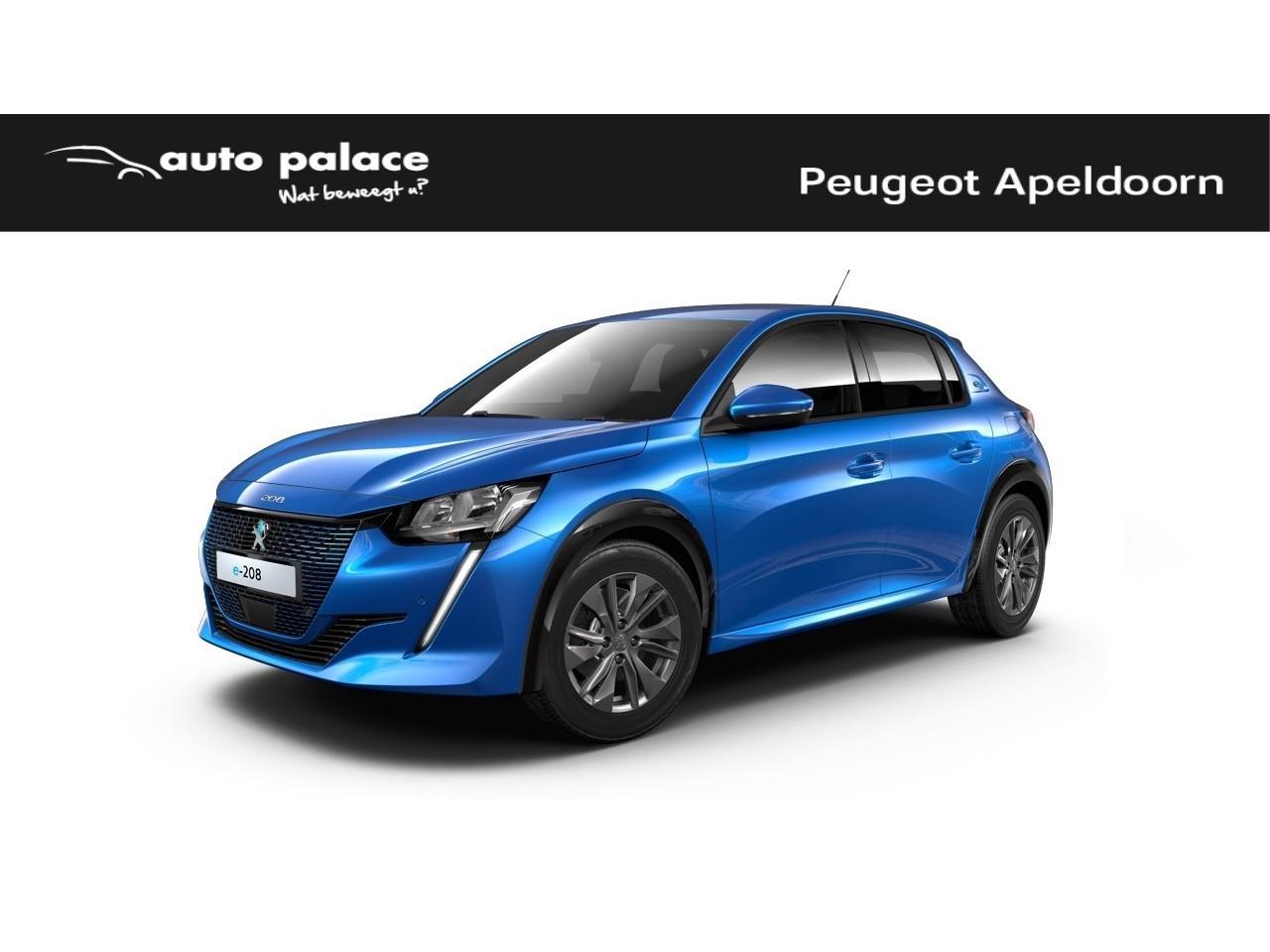Peugeot 208 new Allure premiere volledig elektrisch