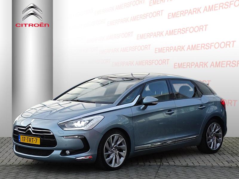 """Citroën Ds5 1.6 200pk sport chic/panoramadak/19""""/zwart leder interieur"""