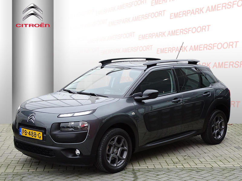 Citroën C4 cactus Vti 82pk shine/parkeersensoren/navigatie/bluetooth