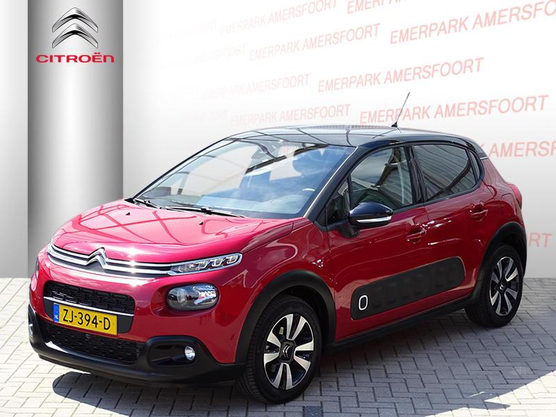 Citroën C3 Shine 1.2 pt 110pk automaat navigatie