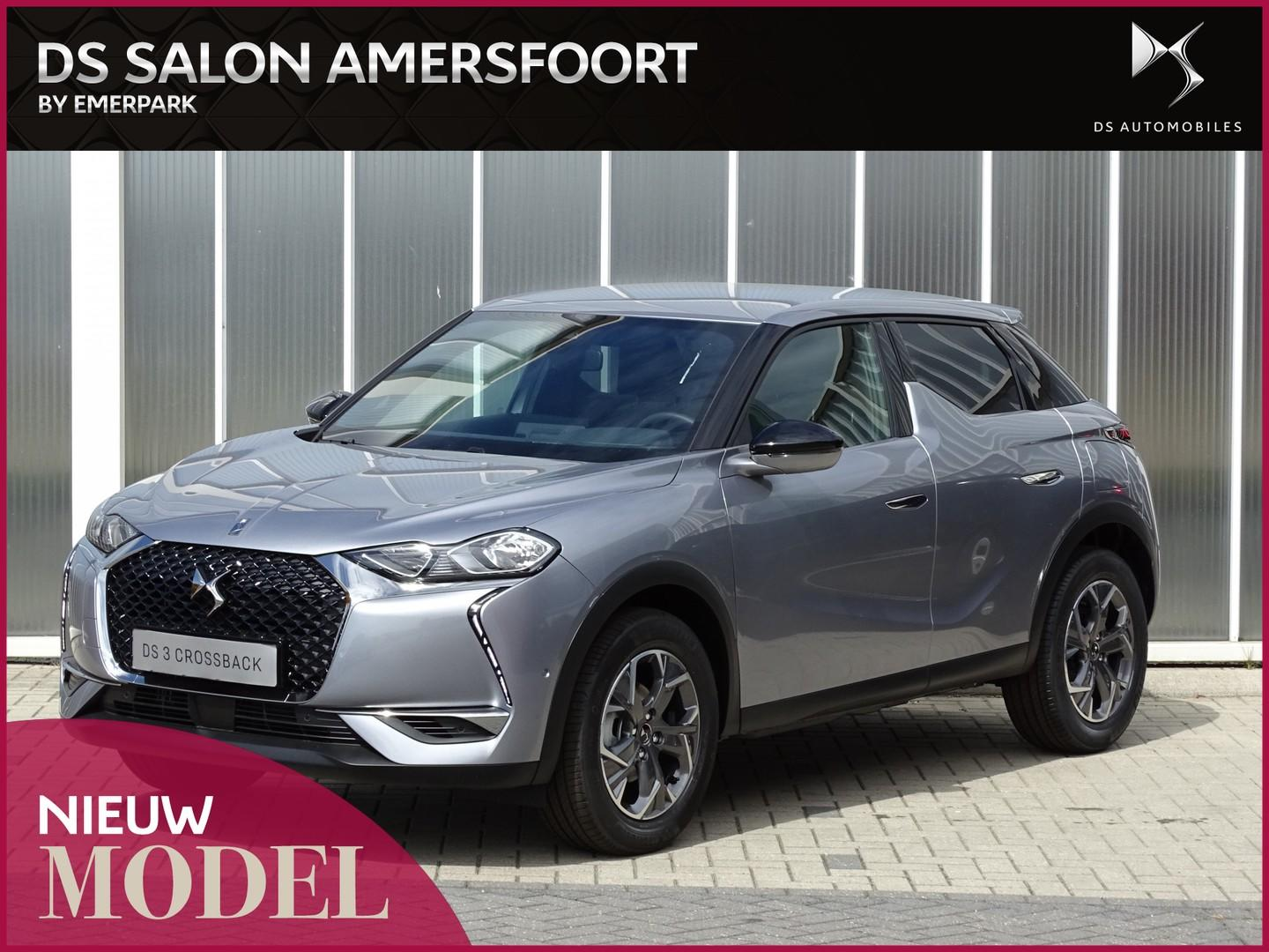 Ds Ds 3 Crossback 1.5 100 bluehdi business bastille lederen interieur