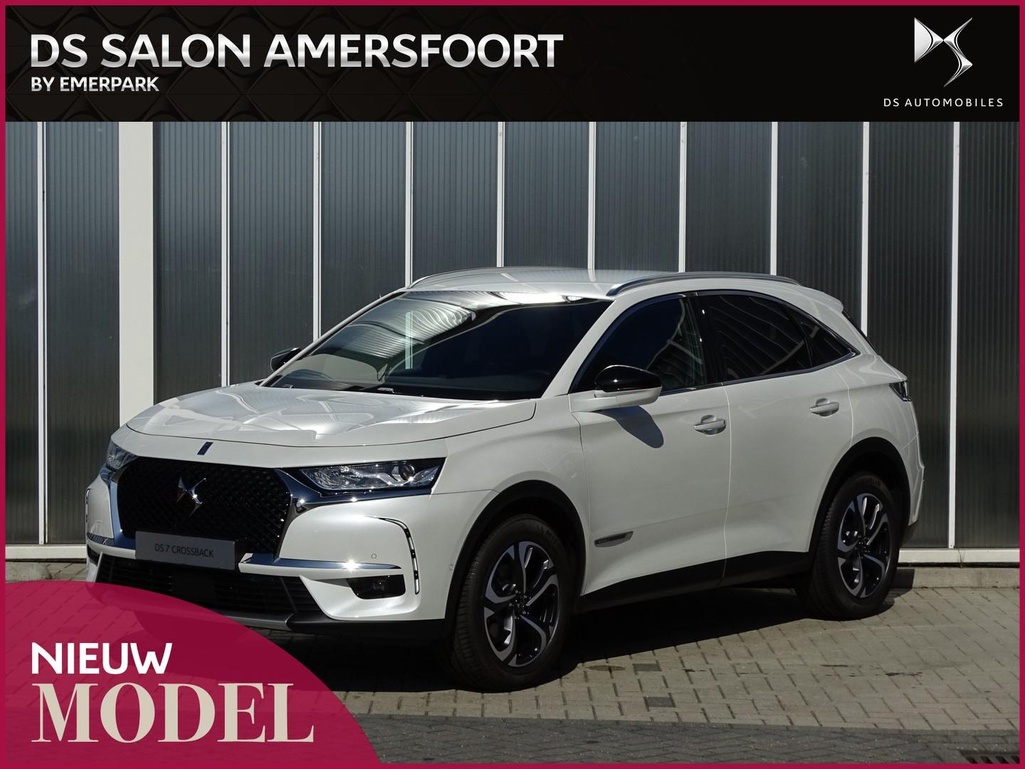 Ds 7 crossback 1.2 puretech 130 be chic rivoli basalte leder advanced safety pack