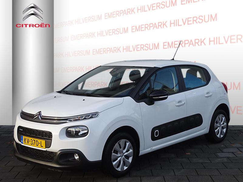 Citroën C3 1.2 pt 82pk feel unieke km stand!! nav/clima/park.sensoren