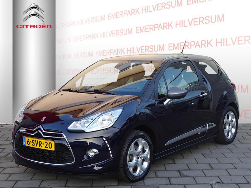 Citroën Ds3 1.2 vti 82pk so chic automaat leer/navigatie