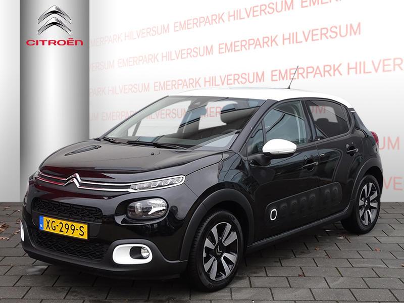 Citroën C3 1.2 puretech 82pk shine navigatie/clima/pdc