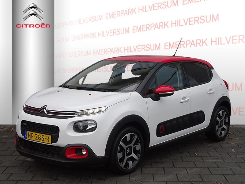 Citroën C3 Shine 1.2 pt 110pk nav/trekhaak/ 17inch lmv