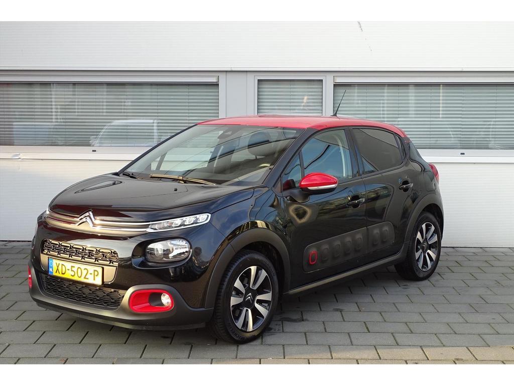 Citroën C3 1.2 puretech 82pk shine/navigatie/licht metalen velgen