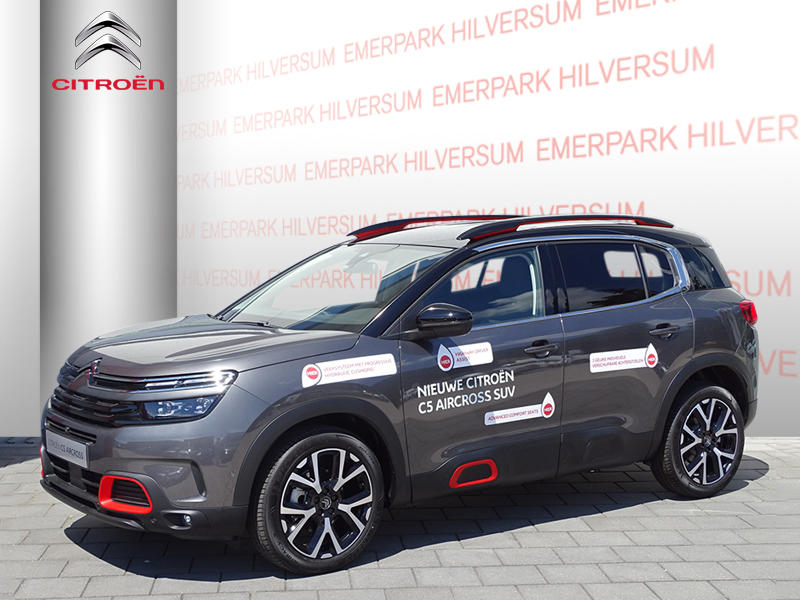 Citroën C5 aircross Shine 2.0 bluehdi 180pk automaat navigatie