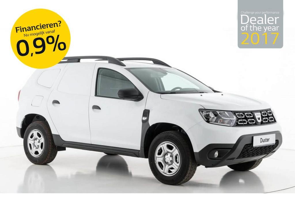 Dacia Duster Van sce 115pk prestige bi-fuel lpg grijs kenteken