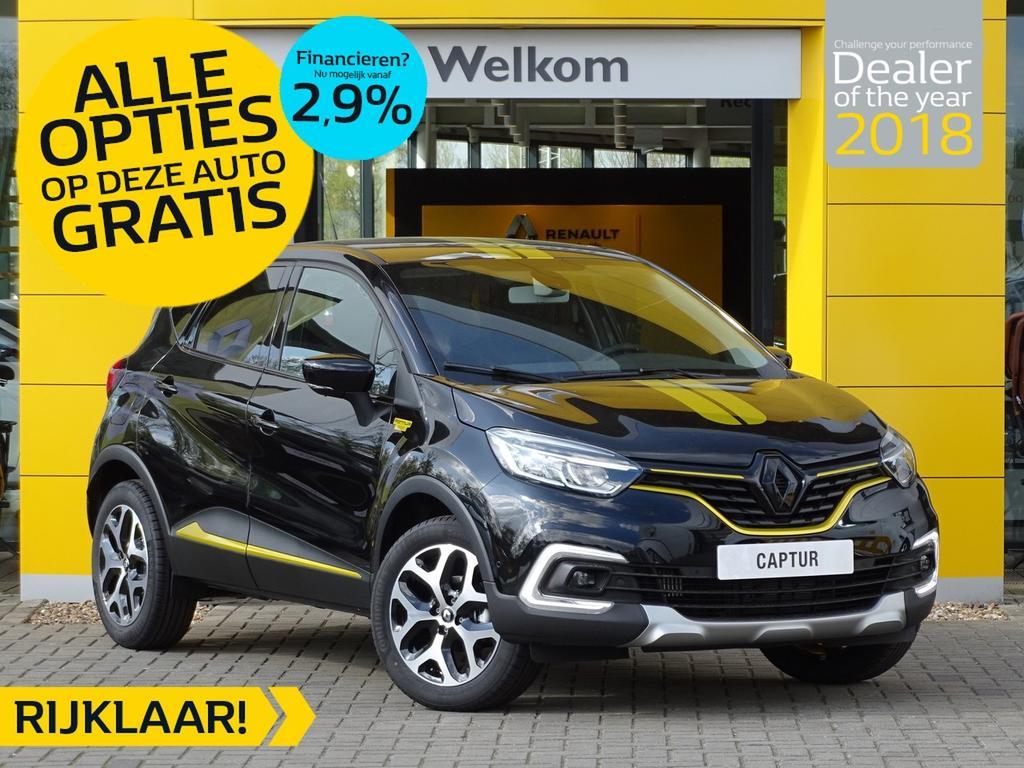 Renault Captur Tce 90pk intens formula edition normaal rijklaar 25.950,- nu rijklaar 22.650,- incl gratis opties