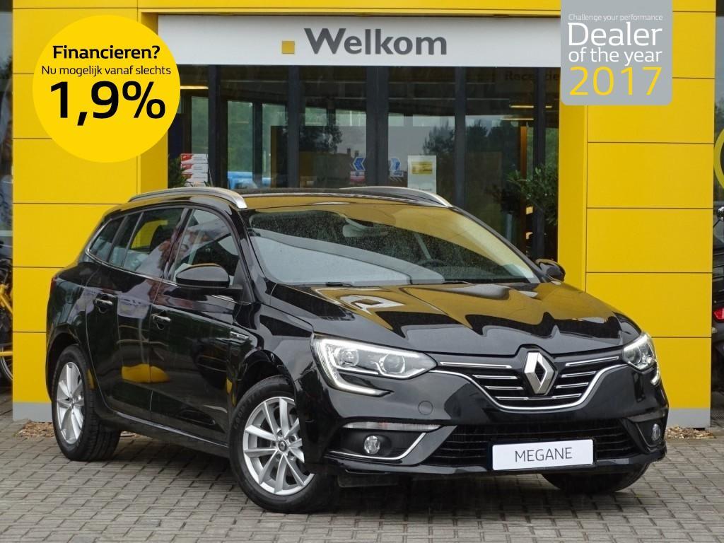 Renault Mégane Estate tce 130pk limited normaal rijklaar 27.325,- nu rijklaar 24.350,-