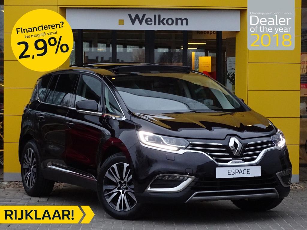 Renault Espace Tce 225pk initiale paris 7-persoons normaal rijklaar 64.650,- nu rijklaar 62.850,-
