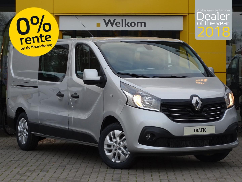 Renault Trafic 1.6 dci 125pk tt l2h1 dubbele cabine luxe abd actie van 32.950,- voor 24.995,-