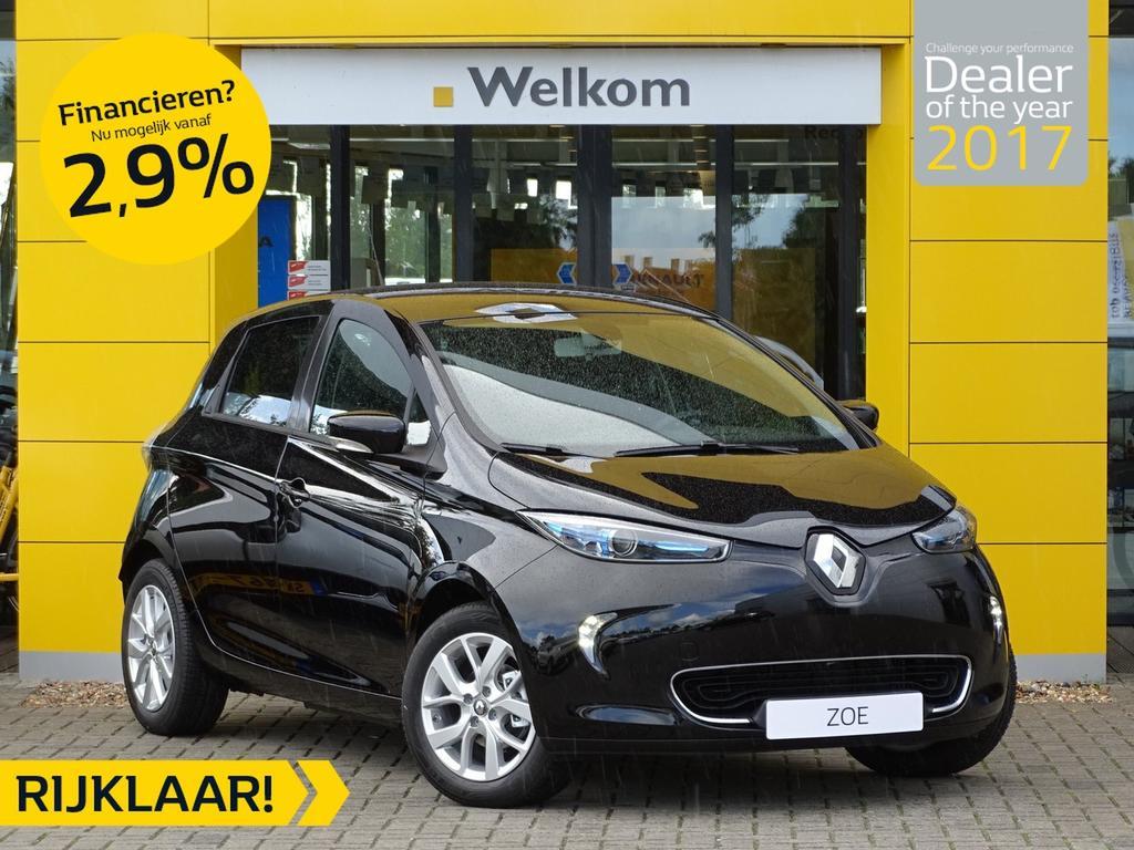 Renault Zoe R110 limited z.e. 40 normaal rijklaar 35.850,- nu rijklaar 34.350,- + gratis laadpaal of greenflux laadpas