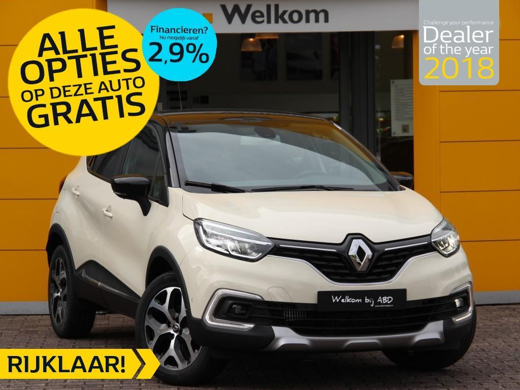 Renault Captur Tce 90pk intens normaal rijklaar 24.650,- nu rijklaar 21.750,- incl gratis opties