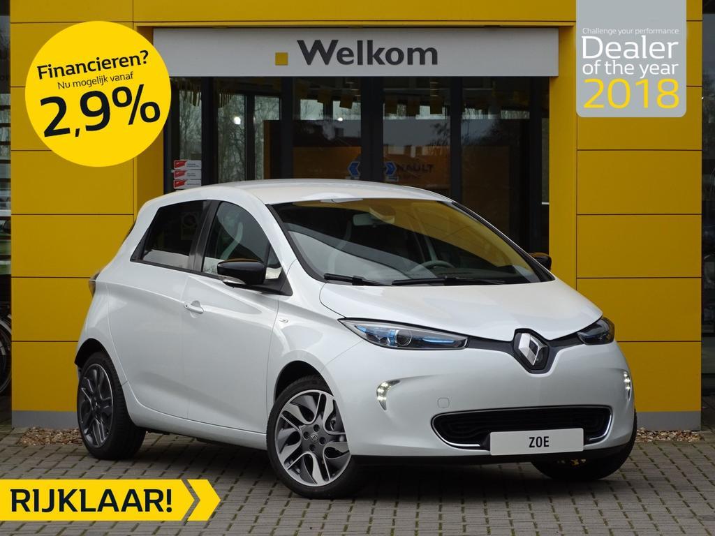 Renault Zoe R110 bose z.e. 40 normaal rijklaar 39.150,- nu rijklaar 37.650,- + gratis laadpaal of greenflux laadpas