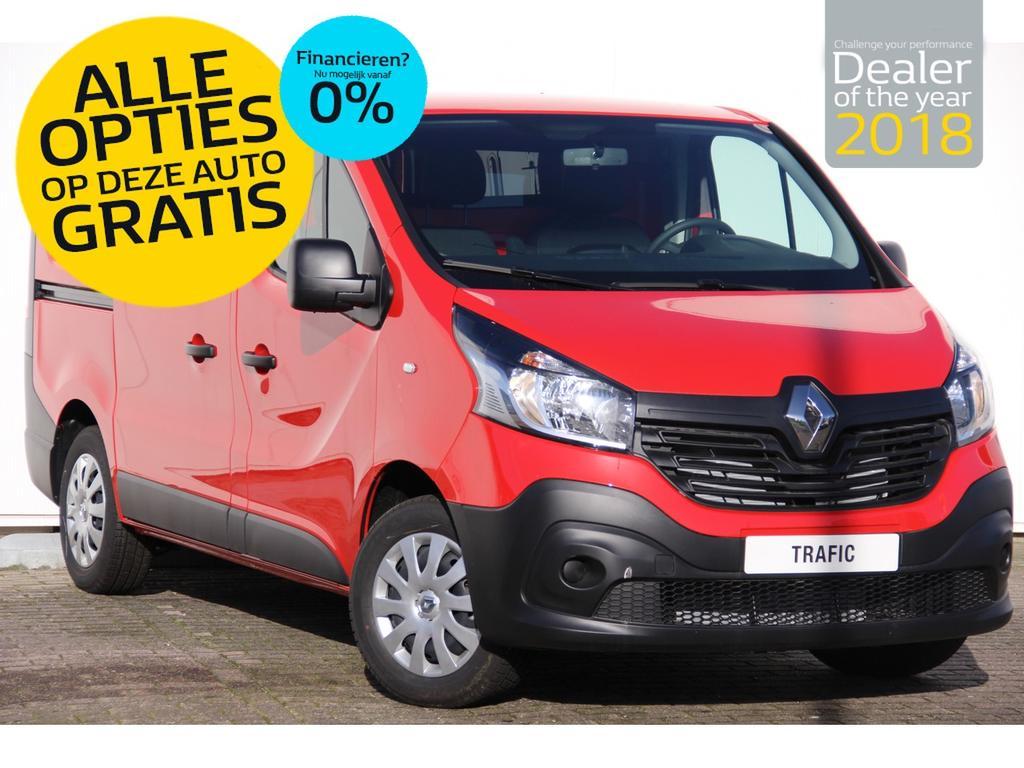 Renault Trafic 1.6 dci 95pk t27 l1h1 comfort rijklaar van 24.295,- voor 18.795,- incl. gratis opties