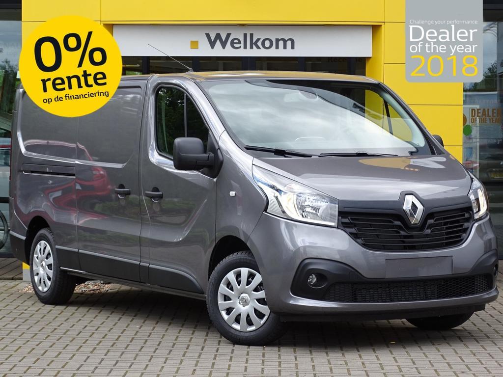 Renault Trafic 1.6 dci 125pk t29 l2h1 work edition abd actie van 27.575,- voor 20.895,-